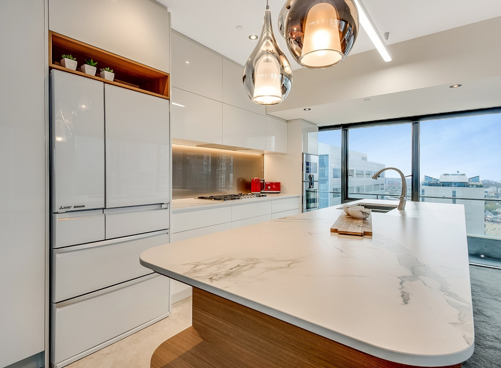 Complete kitchen design options for Competitive kitchen designs